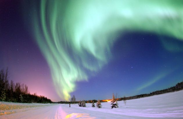 Aurora Borealis Shines for the Holiday!